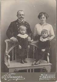 Familie de nobili. Chișinău începutul secolului XX