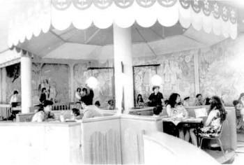 """Cafenea """"Skaska"""" (etaj2) 1981, poză OldChisinau"""